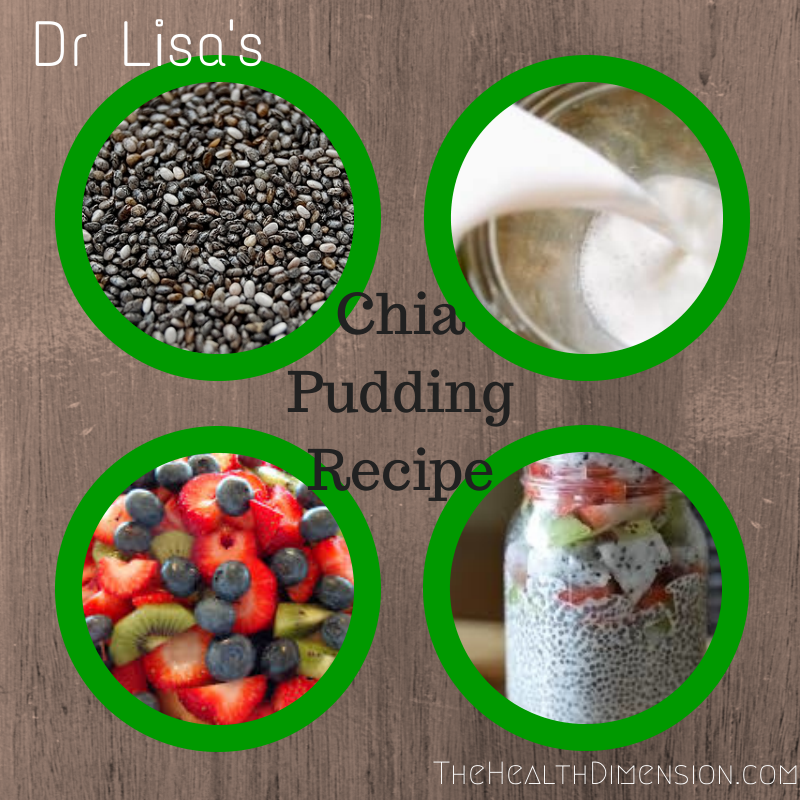 chia seed coconut milk pudding recipe