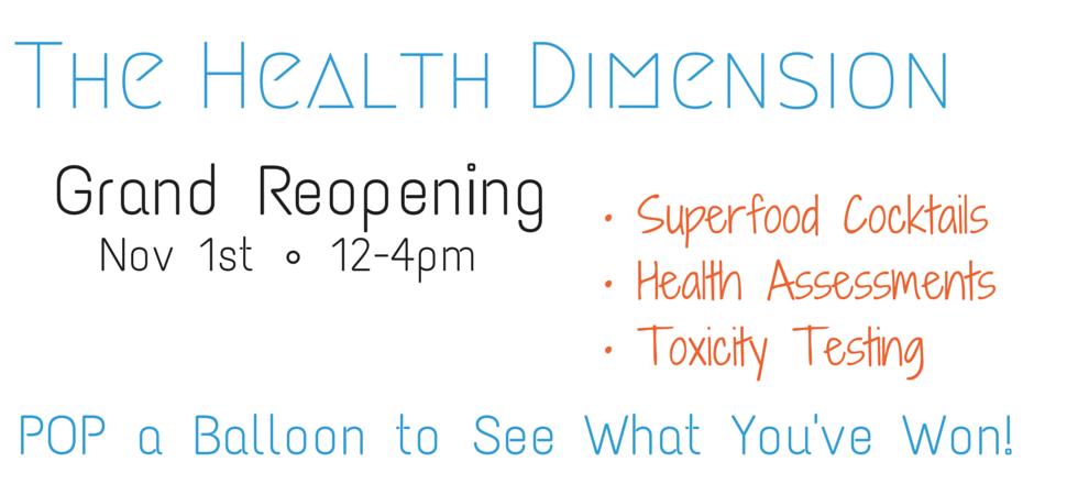 The Health Dimension