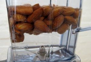 Almonds in Vitamix